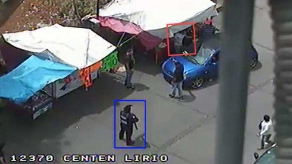 #Video Detienen a hombre por robo de vehículo en Álvaro Obregón
