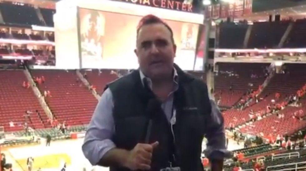 Houston Rockets aplastan a Utah Jazz en el primer partido - Captura de Pantalla
