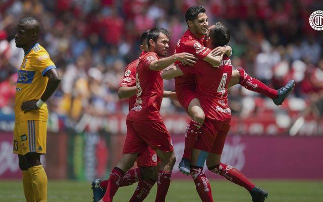 Toluca vence a Tigres y mantiene liderato - Foto de @TolucaFC