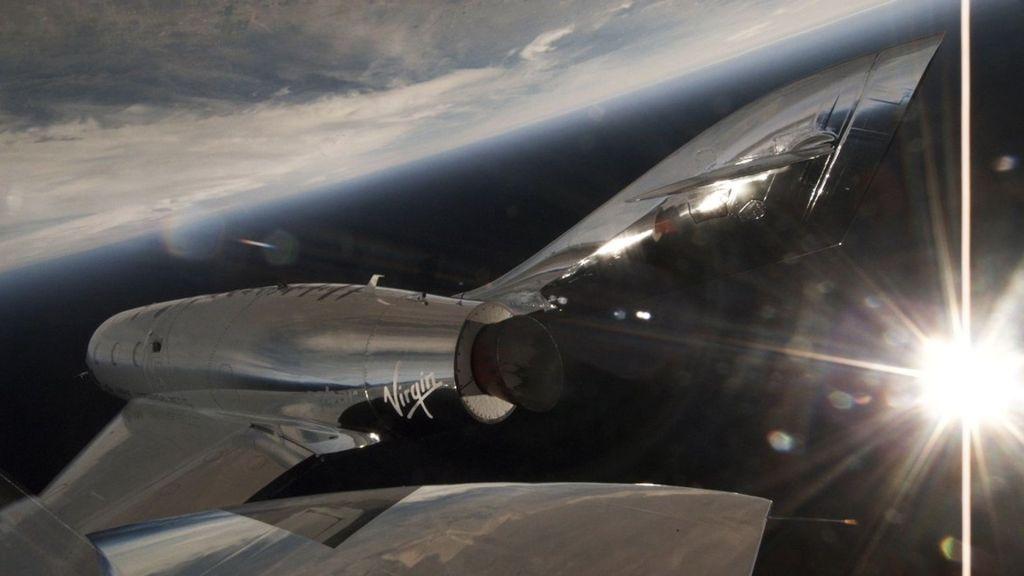 #Video Virgin lanza vuelo supersónico con éxito