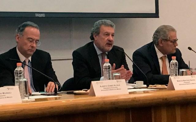 Banqueros refrendan compromiso de trabajar con AMLO - Foto de @AsocBancosMx
