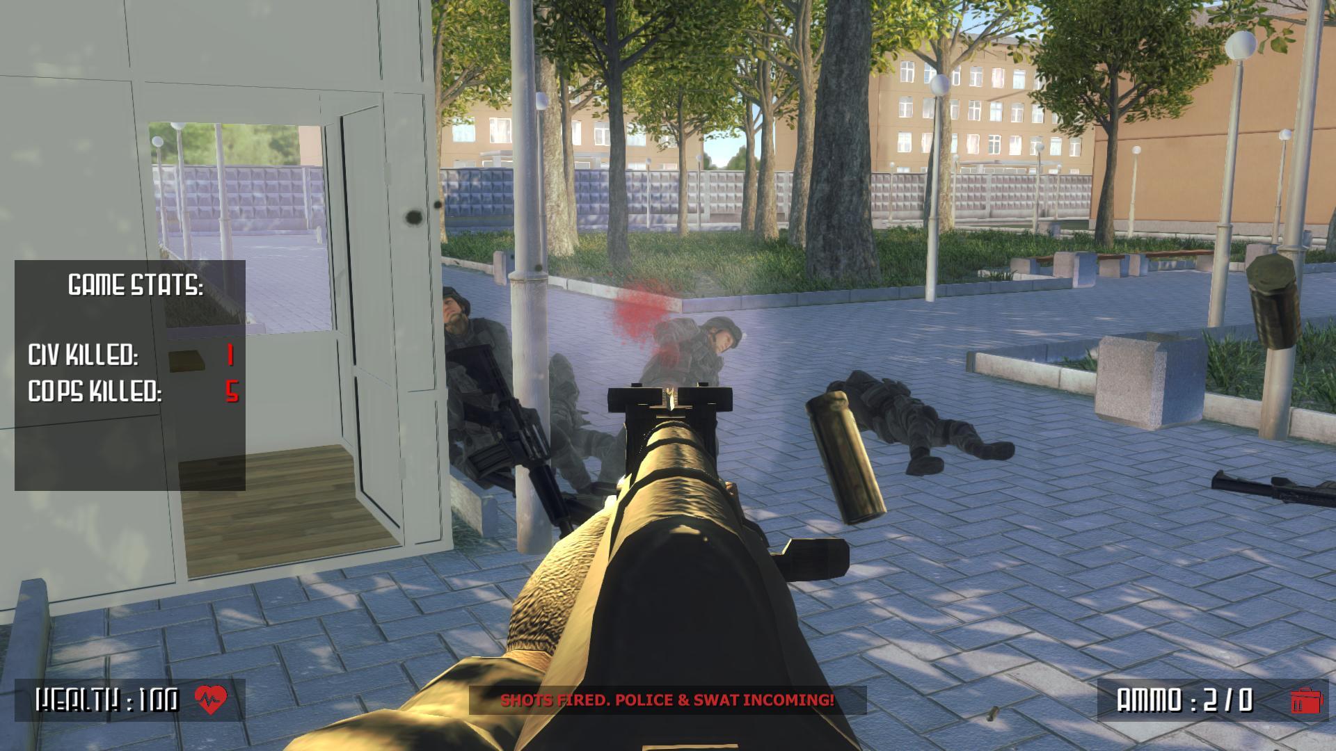 Genera críticas videojuego sobre matanza en escuela