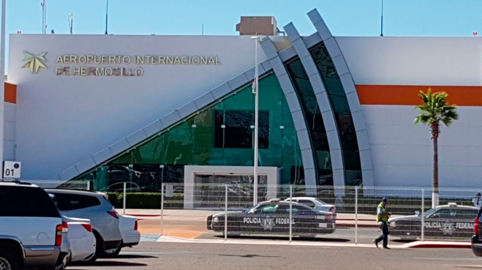 Pasajero alerta por presunta portación de explosivo en aeropuerto de Sonora - Foto de internet