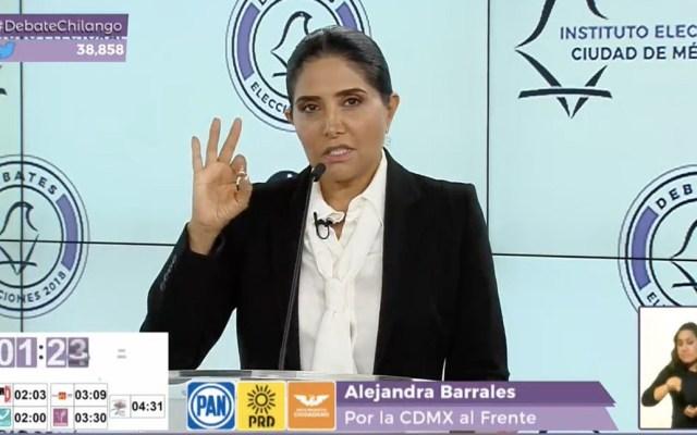 Barrales reta a Arriola a renunciar si le demuestran propiedad en Polanco - v