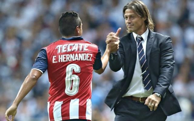 Jugadores de Chivas muestran su apoyo a Matías Almeyda - Foto de Récord