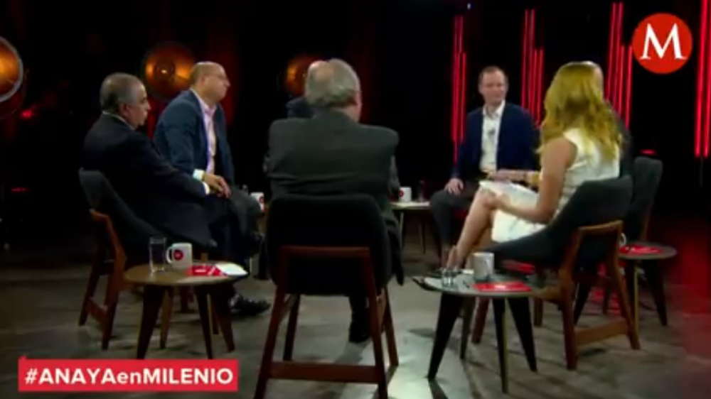 Ricardo Anaya revela cuánto gana su familia - Foto de Milenio