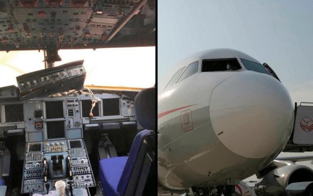 #Video Avión succiona a copiloto durante vuelo en China