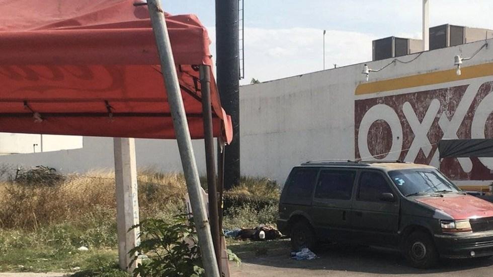 Mueren cinco en balacera en Celaya - Foto de @barrosromo