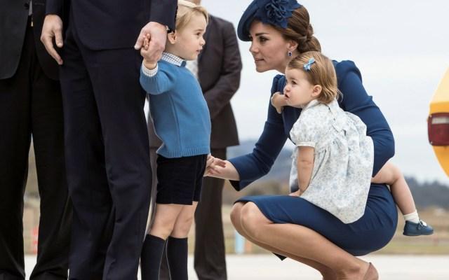 El príncipe Jorge y la princesa Carlota serán pajes de la boda real - Foto de Getty