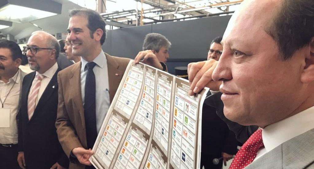 Arranca la impresión de boletas para elecciones presidenciales - Foto de @MarcoBanos