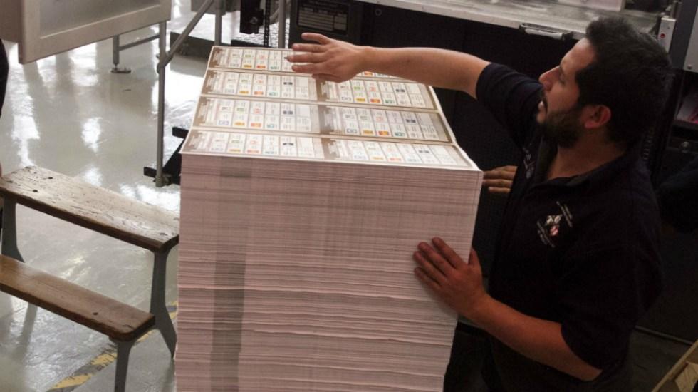 Modificarán boletas electorales en 15 municipios de San Luis Potosí - Foto de Cuartoscuro