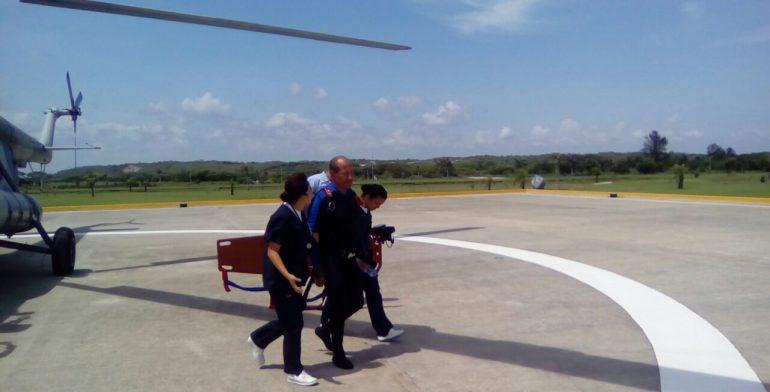 Continúa la búsqueda de buzo mexicano desaparecido frente a costa de Veracruz
