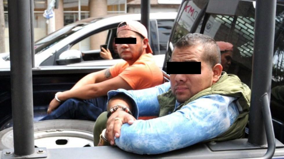 Detienen a dos presuntos sicarios del Cártel de Tláhuac - Foto de @arturosierra1