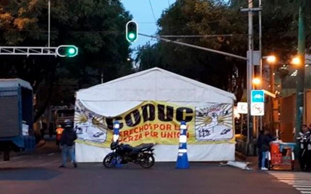 Alertan por cierre en Eje 7 Sur - Foto de Milenio