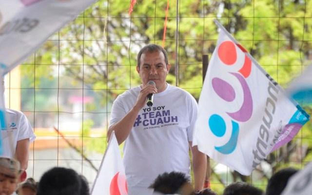 Yo no negocio con delincuentes: Cuauhtémoc Blanco - Foto de @cuauhtemocb10