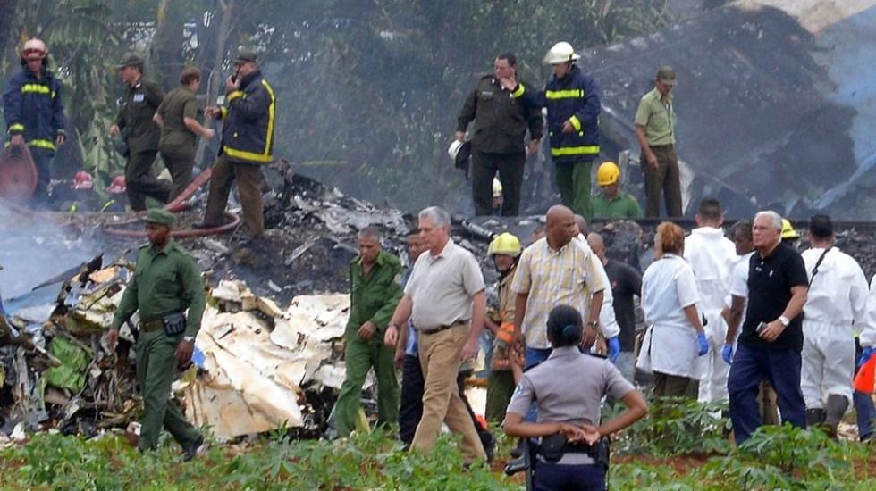 """Accidente aéreo en Cuba se debió a """"fallo humano"""" de pilotos: Global Air"""