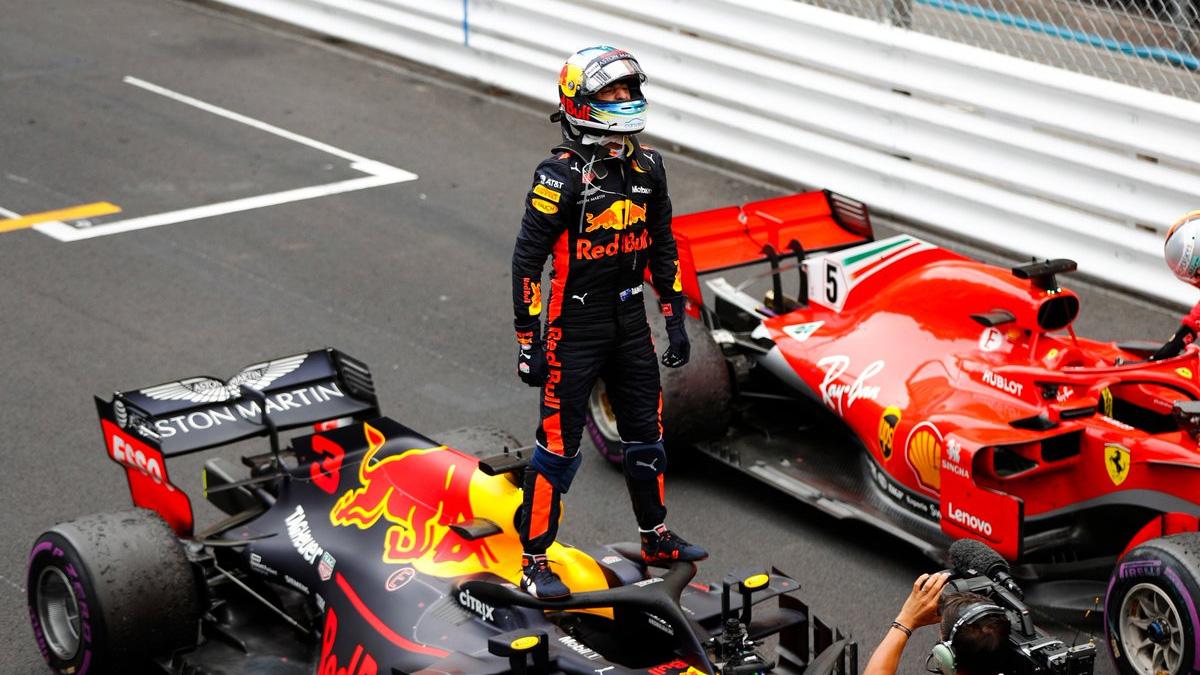 Somos Deporte: Daniel Ricciardo se impuso en el callejero de Mónaco