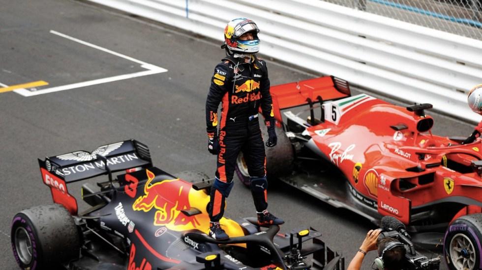 Reflejos del GP de Mónaco 2018 - Foto de @F1