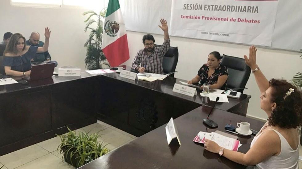 Aprueban moderadores para primer debate a la gubernatura de Chiapas - Foto de @IEPCChiapas