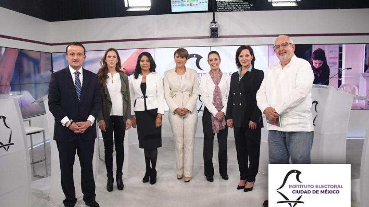 Aspirantes al GCDMX llegan a sede del segundo debate