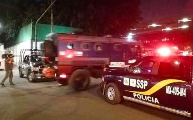 Blindan instalaciones por presunto intento de rescate de detenidos