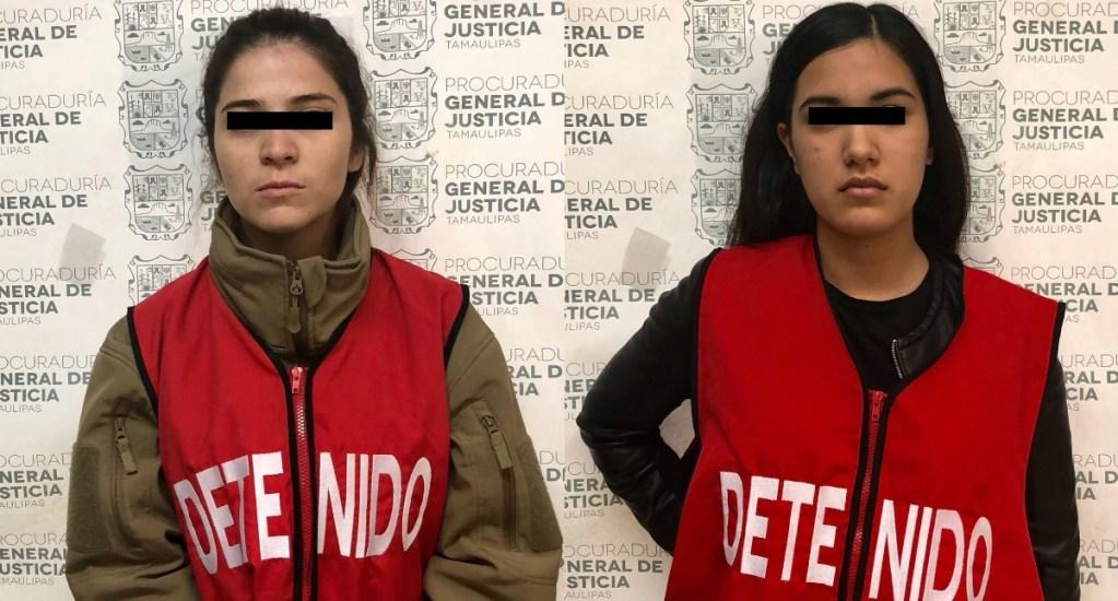 Detienen a dos implicadas en robo a joyería de Tamaulipas - Foto de Procuraduría de Tamaulipas