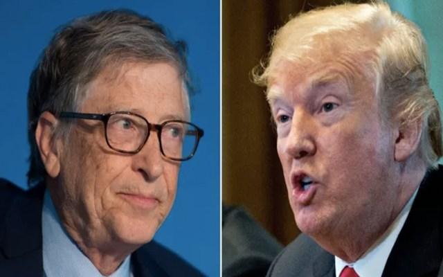#Video Bill Gates evidencia a Donald Trump - Foto de internet