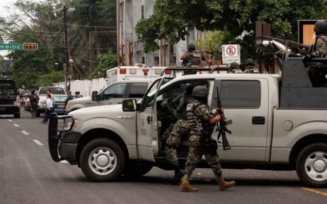 Solicitan vigilancia del Ejército y Marina en el Centro Histórico - Foto de @EnfoqueNoticias