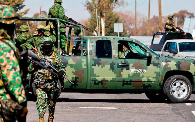 Despliegan 800 elementos de Fuerzas Armadas en Guanajuato - Foto de internet