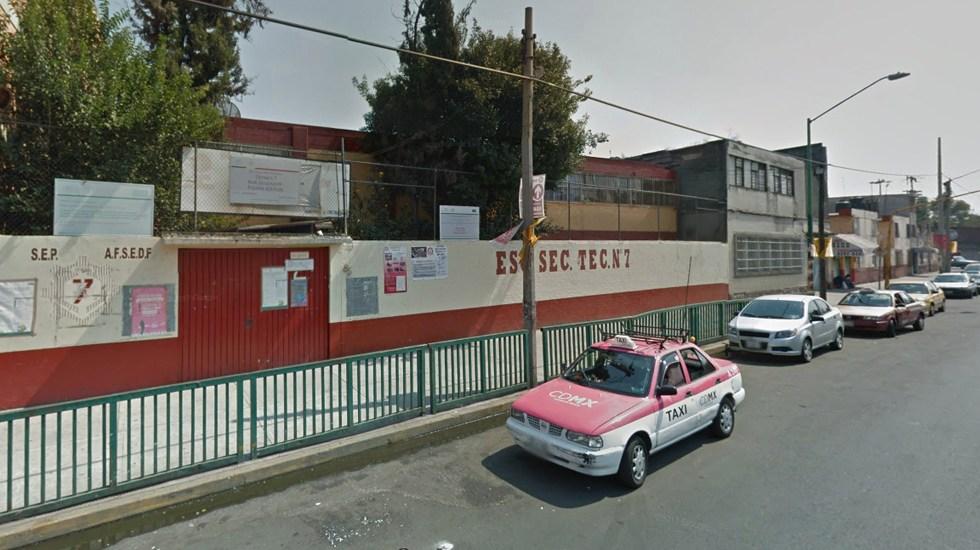 Lesión de menor en secundaria de Venustiano Carranza fue un accidente - Captura de Google Maps