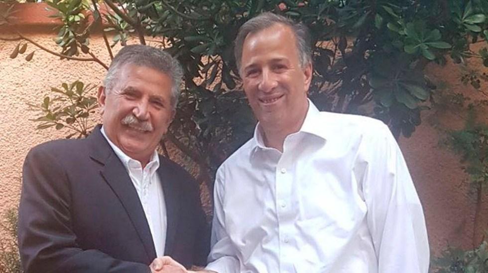 José Antonio Estefan Garfias se suma a campaña de Meade - Foto Especial
