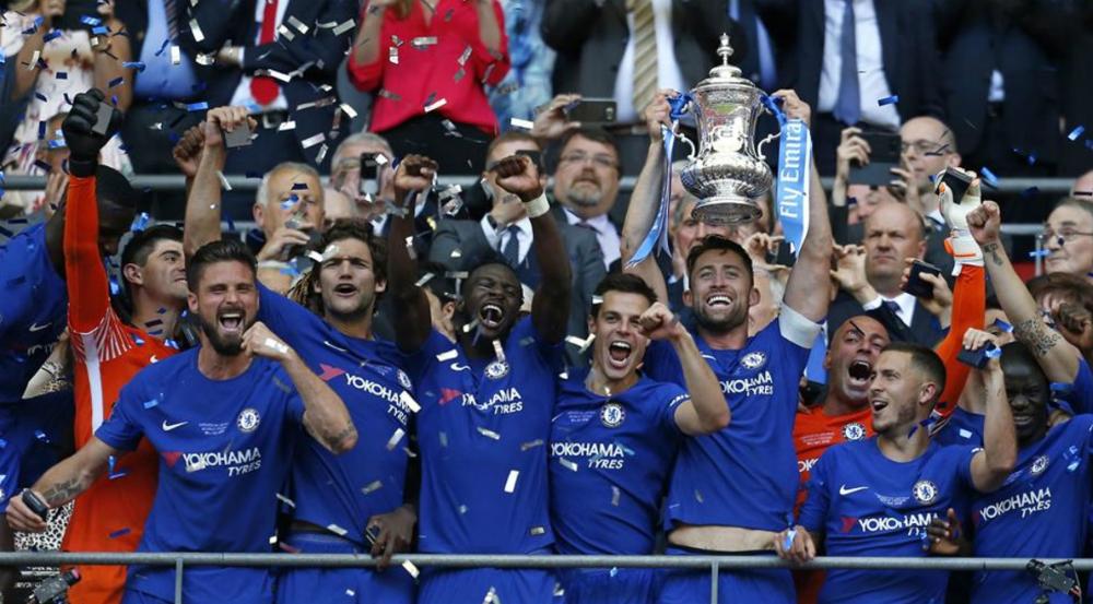 Chelsea se corona en la FA Cup - Foto de AFP