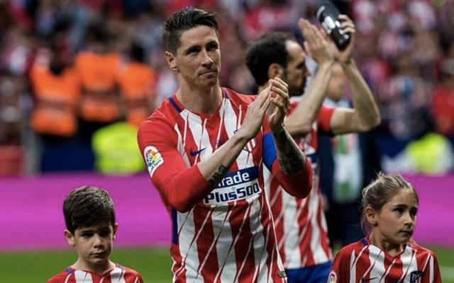Fernando Torres tuvo su último partido con el Atlético. Foto de EFE