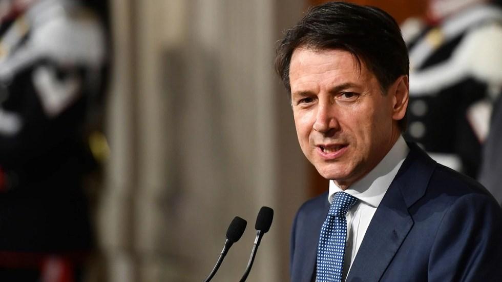 Giuseppe Conte renuncia a ser primer ministro de Italia - Foto de AFP
