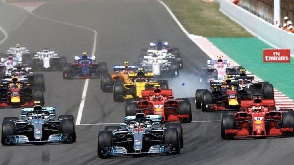 Reflejos del GP de España 2018 - Foto de Internet