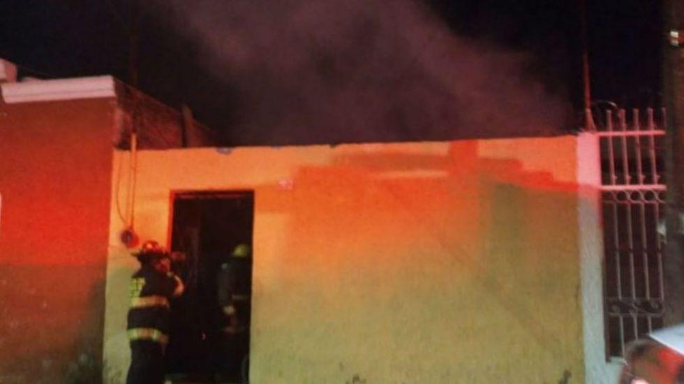 Mueren abuela y tres menores durante incendio en Jalisco