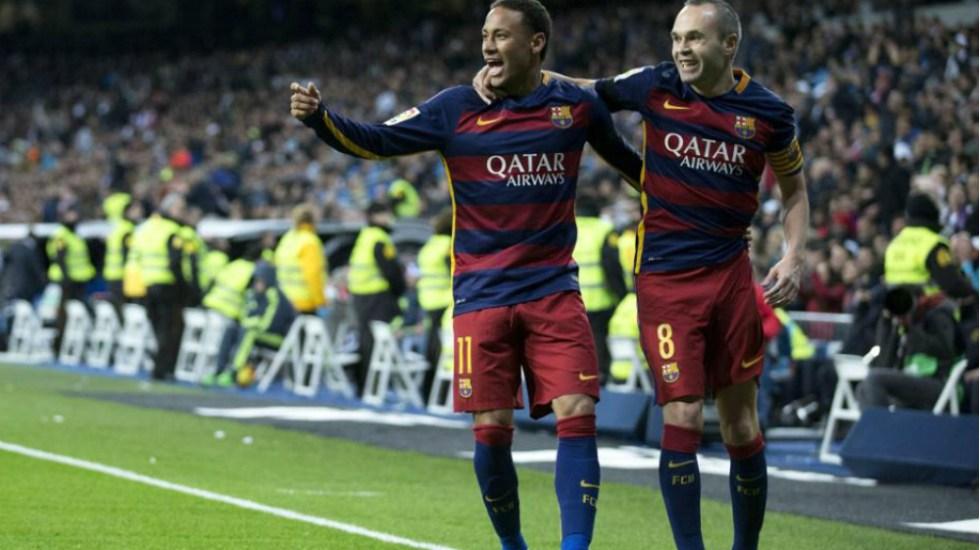 Llegada de Neymar al Real Madrid no sería terrible: Iniesta - Foto de Getty Images