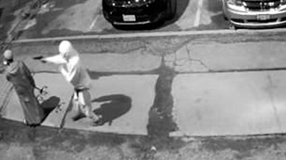 #Video Hombre se salva de ser asesinado tras atascarse pistola de agresor