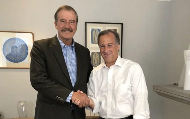 Meade se reúne con Vicente Fox en la Ciudad de México - Foto de @JoseAMeadeK
