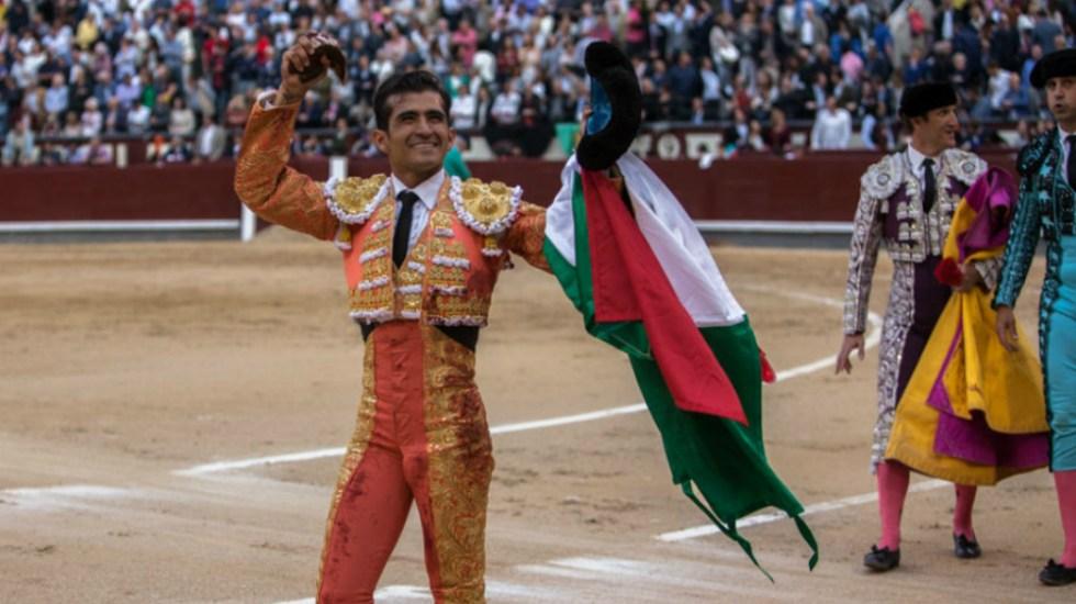 Joselito Adame corta oreja en la Feria de San Isidro 2018 - Foto de Las Ventas
