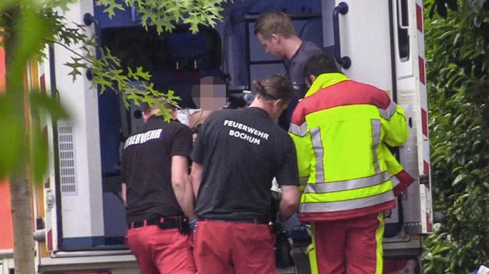 Rayo golpea a dos jóvenes en Alemania, una se reporta grave - Fotos de Der Westen