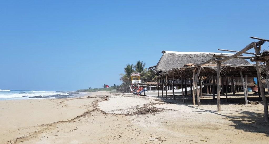 Costa de Oaxaca sin daños mayores por mar de fondo - Foto de Protección Civil Oaxaca