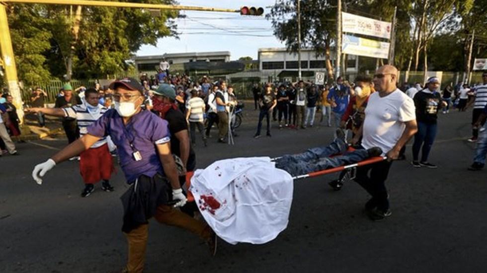Matan a cuatro personas durante marcha en Nicaragua - Foto de AP