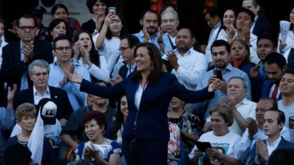 Votos en favor de Margarita Zavala serán inválidos: INE - Foto de Internet