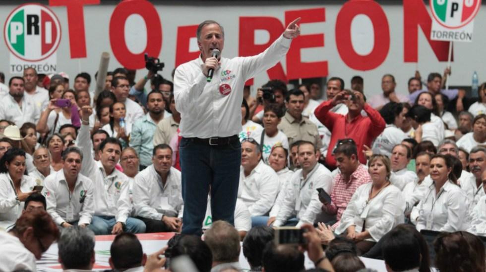 """""""Yo estoy del lado de las víctimas, AMLO de los criminales"""": Meade - Foto de José Antonio Meade"""