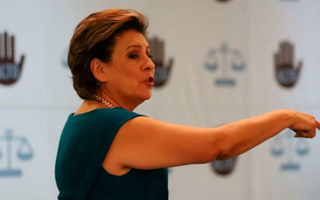 Inaceptable que víctimas de Nestora Salgado queden sin justicia: Miranda de Wallace - Foto de Cuartoscuro