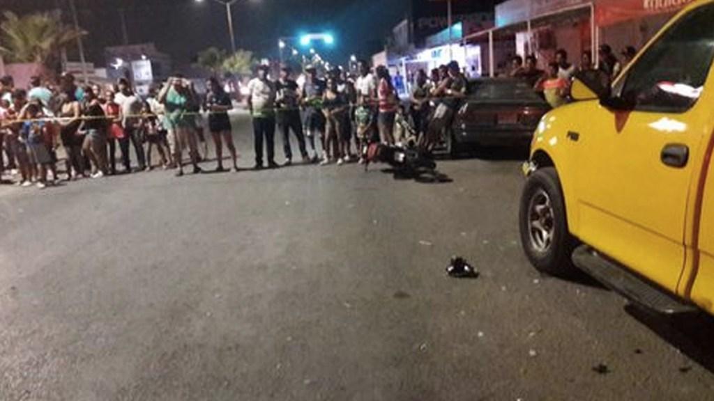 Motociclista ebrio arrolla a multitud en Torreón - Foto de Milenio