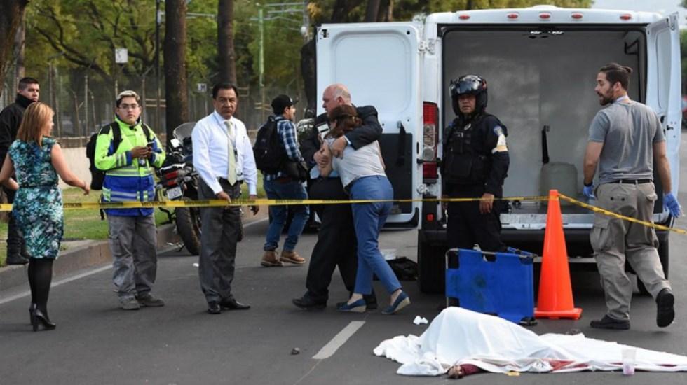 Choque entre moto y auto deja un muerto en Tlalpan - Foto de Quadratín