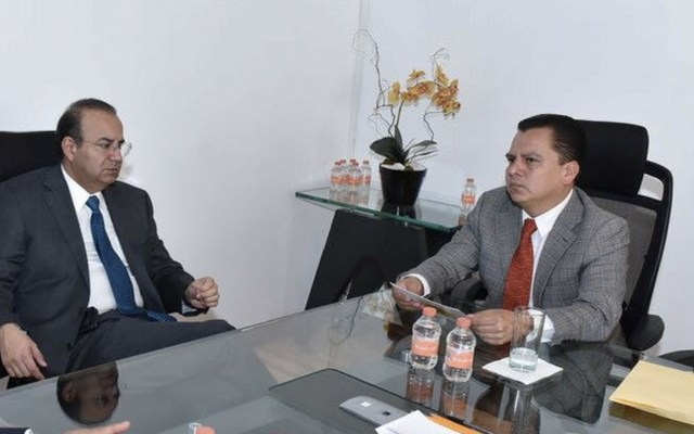 Navarrete Prida retoma reuniones con partidos políticos - Foto de Twitter Alonso Navarrete Prida