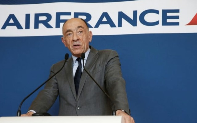 Presidente de Air France anuncia dimisión tras crisis salarial - Foto de internet